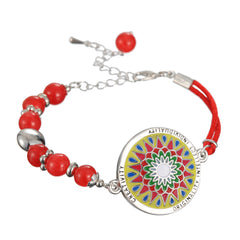 Celtic Mandala Bracelet with a Meaning: CREATIVITY