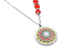 Mandala Pendant and Necklace. Meaning: Creativity, Originality, Intellect and individuality