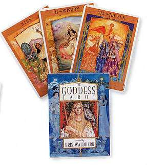Goddess tarot deck by Waldherr, Kris