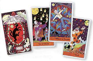 Halloween Tarot by  West, Kipling