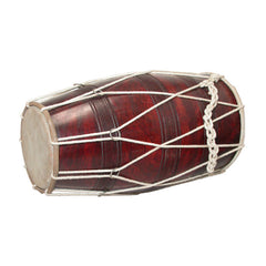 Dholak Drum with Deluxe Cord and Ring