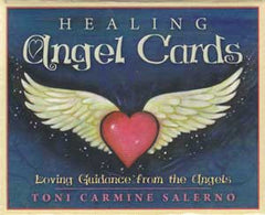 Healing Angel Cards by Toni Carmine Salerno
