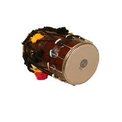 Dhol Synthetic and Goatskin Heads