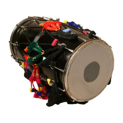 Dhol Drum with Synthetic Heads