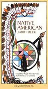 Native American Tarot deck by Gonzalez, Magda Weck