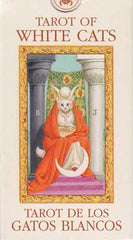 Tarot of the White Cats Mini Tarot by Lo Scarabeo