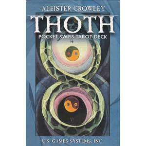 Thoth Pocket Swiss Tarot Deck by Aleister Crowley