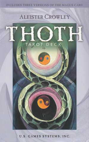 Thoth Premier Tarot Deck by Aleister Crowley
