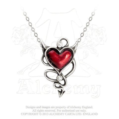 Devil Heart Necklace