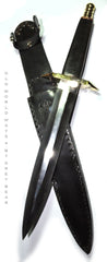 Double Triangle Ritual Athame - 19.25 Inch