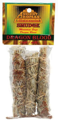 Dragon's Blood Smudge Stick 3-Pack