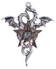 Dragonstar Pentagram Necklace