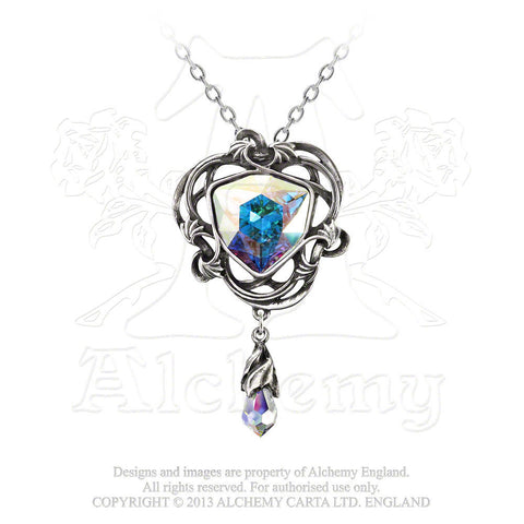 Empyrian Eye: Tears From Heaven Necklace