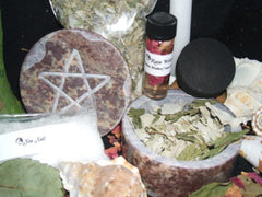 Four Elements Consecrating Blessing Kit for Cleansing Rituals