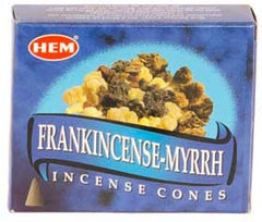 Frankincense and Myrrh HEM Cone Incense