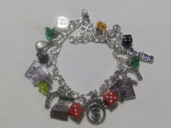 Gamblers Luck Charm Bracelet for Gambling