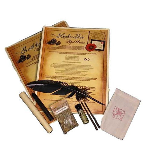 Go With The Flow Writing Ritual Kit