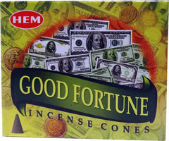 Good Fortune HEM Cone Incense