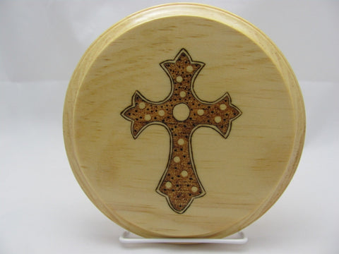 Gothic Cross Altar Tile Paten
