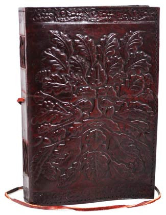 "Greenman Leather Blank Book - 6"" x 8"""