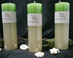 Holiday 911 Candle For Joyful Times and Lowered Stress