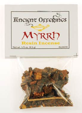 Myrrh Granular Resin Incense 1/3 oz