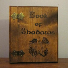 Celtic Elemental Pentagram Book of Shadows
