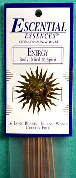 Energy Escential Escences Incense Sticks