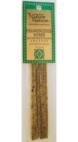 Frankincense/Myrrh Bethlehem Blend Nature Stick Incense