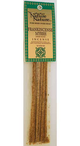 Frankincense/ Myrrh Greek Blend Nature Stick Incense