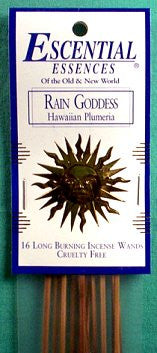 Rain Goddess Escential Essences Incense Sticks