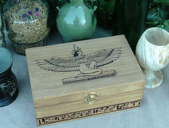 Isis - The Great Mother Tribute Keepsake Box