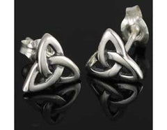 Triquetra Post earring