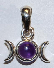 Triple Goddess 5mm  Amethyst