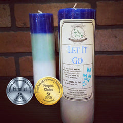 Let It Go Candle