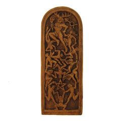 Lord of the Dance Pagan Plaque - Wood Finish