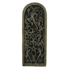 Lord Of The Dance Pagan Plaque   Stone Finish