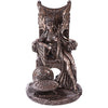 Maeve Celtic Goddess Statue - Bronze Finish