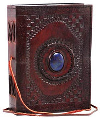 Medium Stones Eye Leather Blank Book