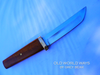 Old Pride-Handmade Japanese Tanto Style Athame-9 Inch