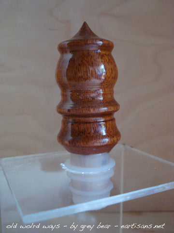 Pagoda Shaped Mead/Wine Stopper
