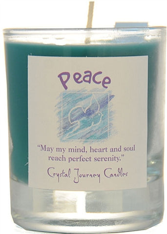 Peace Soy Votive Candle