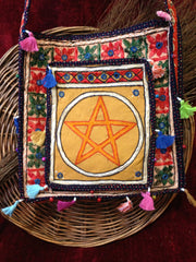 Gypsy Styled Pentacle Purse/Tote Bag