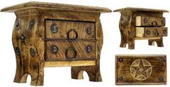 Pagan Pentagram Chest