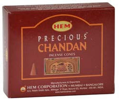 Precious Chandan HEM Cone Incense