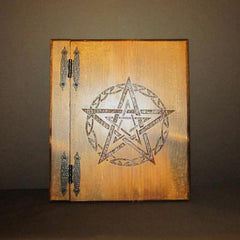 Tribal Pentagram Book of Shadows