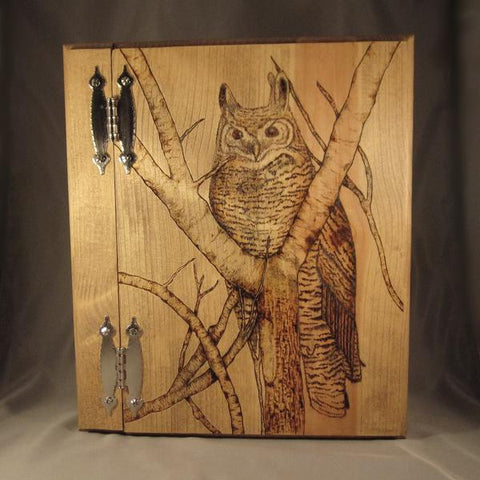 Owl In Tree Book of Shadows