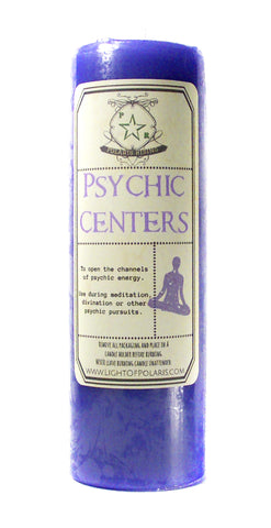 Psychic Centers Pillar Candle