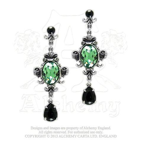 Queen of the Night Earrings