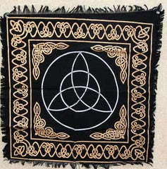 Triquetra Altar or Tarot Cloth